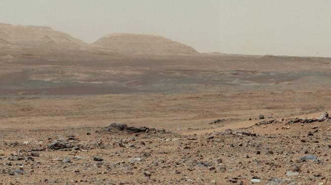 Снимок поверхности Марса от НАСА На Марсе ли он сделан?
